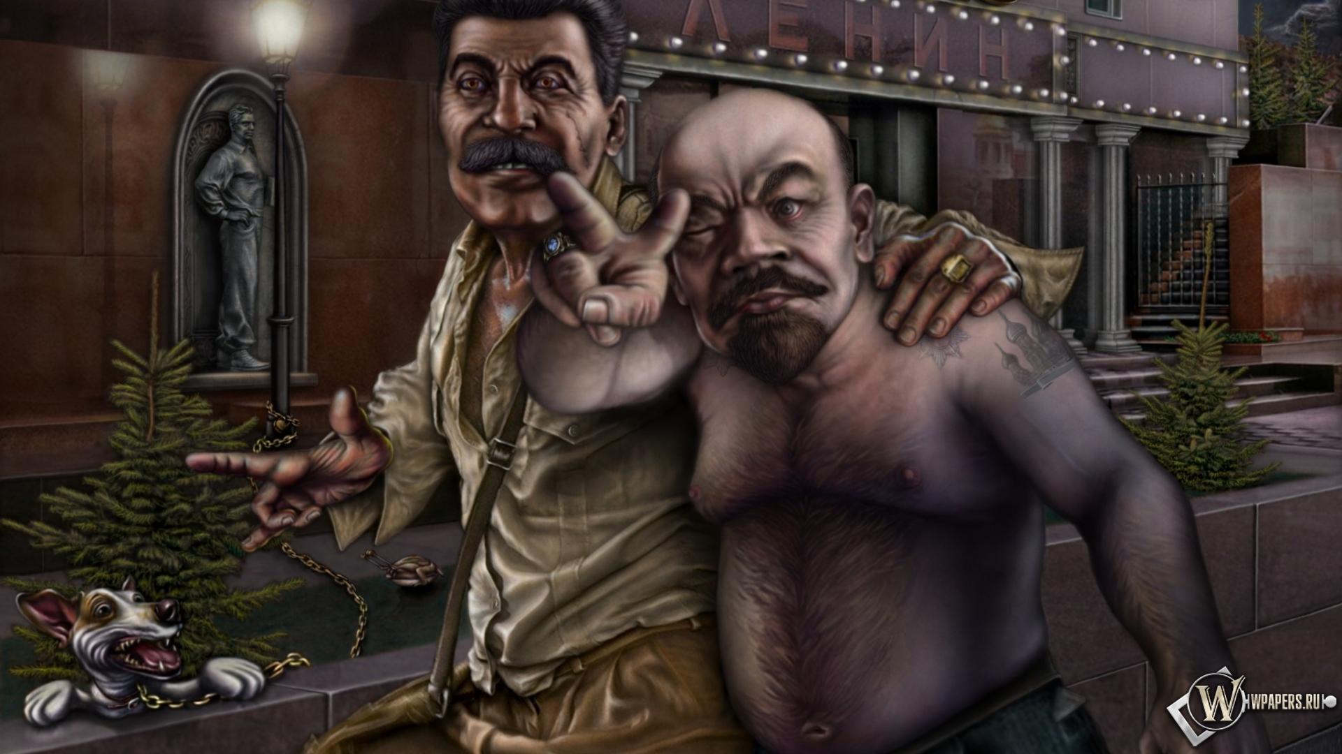 Обои для рабочего стола сталин