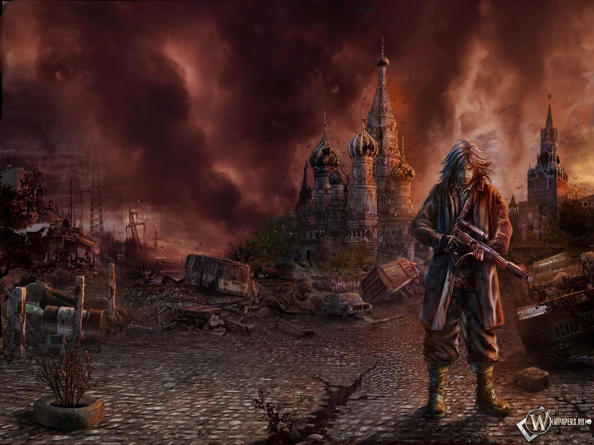 Скачать катастрофа, Кремль, мужик, фото, обои, картинка #366261.