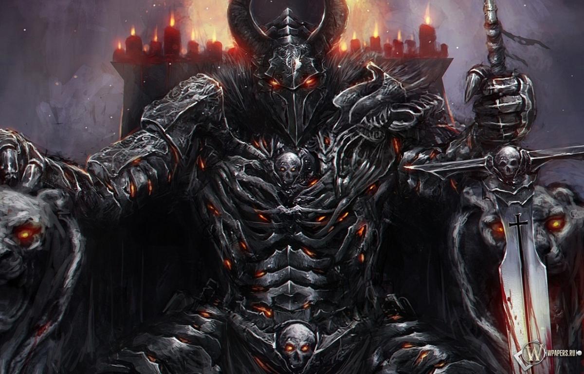 Обои black guard демон черный рыцарь