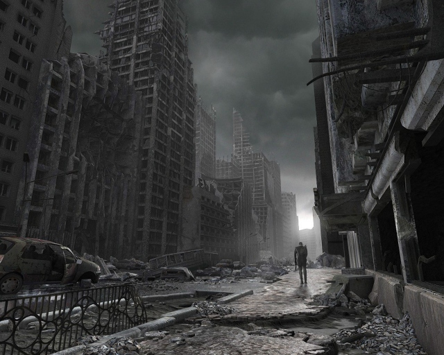 Разрушенный город