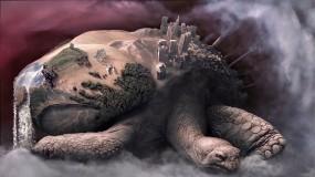 Обои Черепаха-Земля: Земля, Черепаха, Фэнтези