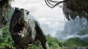 Обои Злой динозавр: Клыки, Динозавр, Древность, Фэнтези