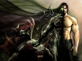 Обои Человек-зверь: Зверь, Человек, мутация, Фэнтези