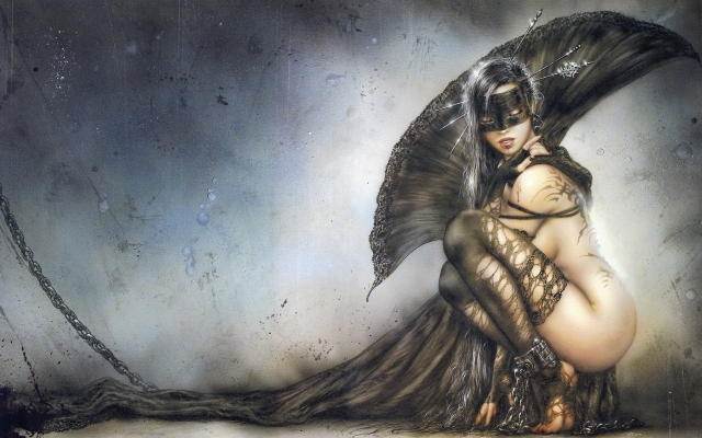 Luis Royo The Needles of joy