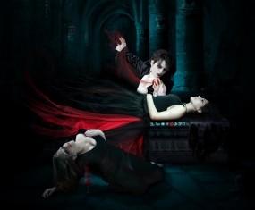 Обои Новорождённая: Девушка, Фэнтези, Вампир, Фэнтези