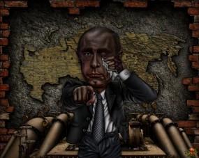 Обои Дело-труба: Россия, Труба, путин, Фэнтези
