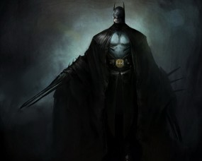 Обои Бэтмен: Бэтмен, Стилизация, Фэнтези