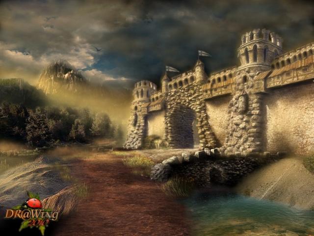 Фентези Замок