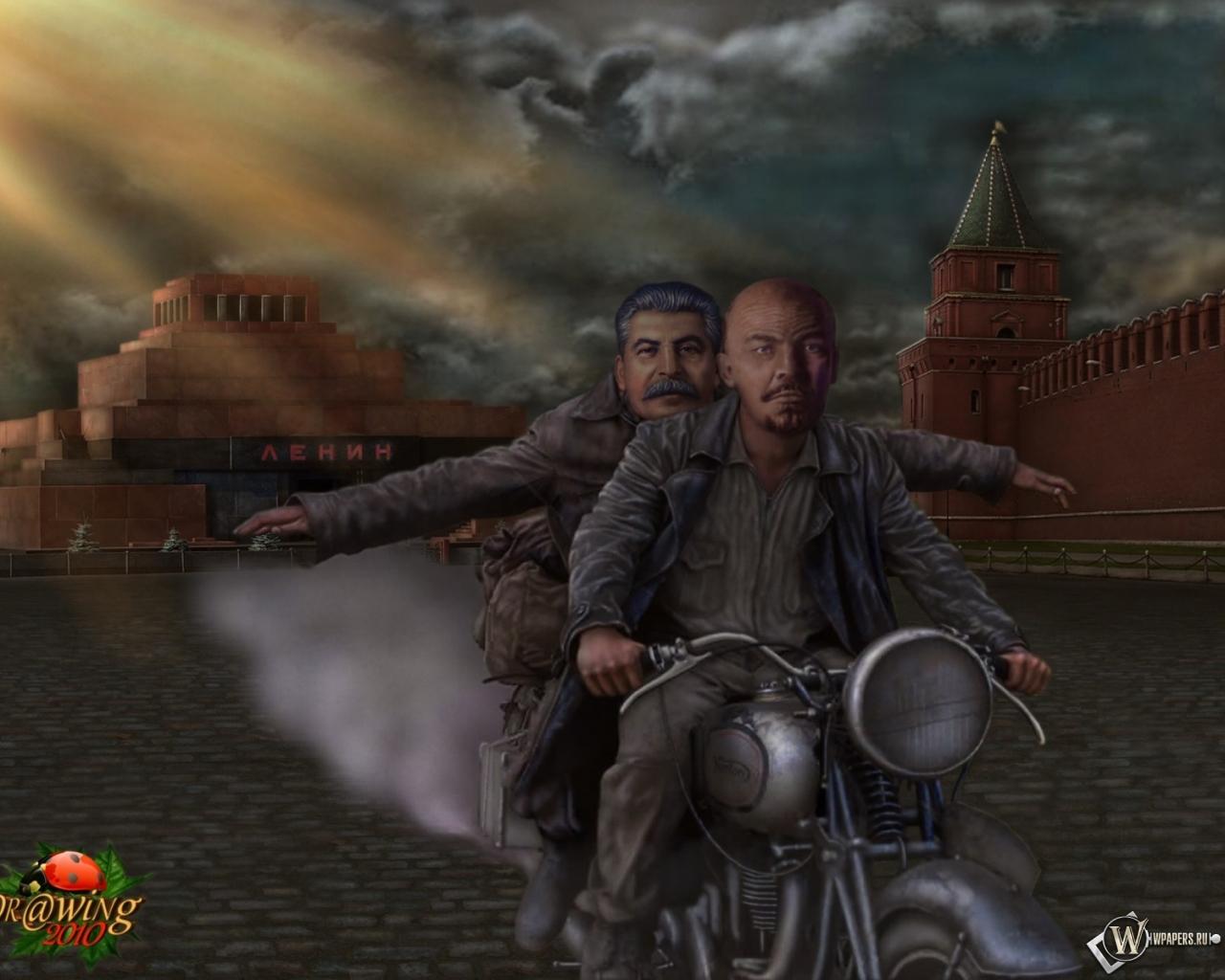 Сталин обои на рабочий стол 1366х768