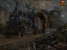 Обои ЖД 2013 год.: Железная дорога, Поезд, АриSt@Rх, 2013, Фэнтези