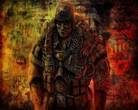 Обои Солдат смерти: Монстр, Солдат, Убийца, Фэнтези