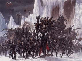 Обои Adrian smith: Зима, Картина, Adrian Smith, Миры, Войны, Фэнтези