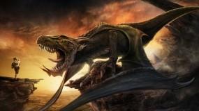 Обои Фото дракона: Дракон, Фотограф, Юмор, Турист, Фэнтези