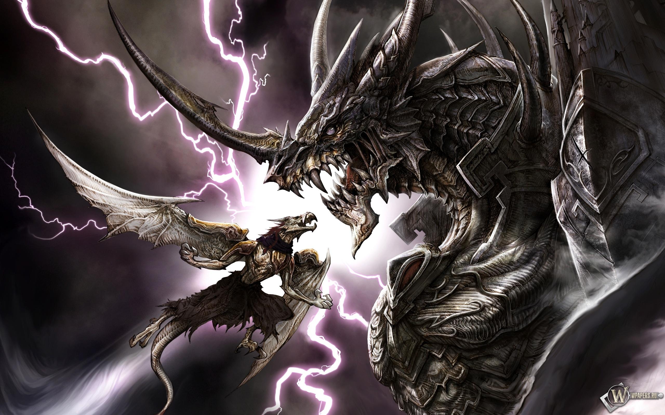 Обои драконы битва драконы схватка