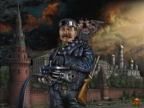 Обои Зачистка...: Кремль, АриSt@Rх, Сталин, Фэнтези