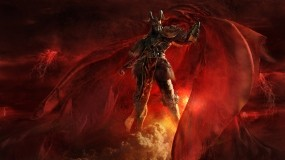 Обои Сатана: Фэнтези, Небо, Дьявол, Фэнтези