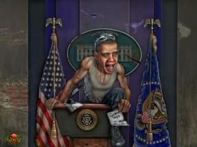 Обои Закат империи: АриSt@Rх, Крах, Обама, Фэнтези