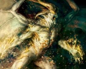 Обои Балрог: Властелин колец, Демон, Балрог, Фэнтези