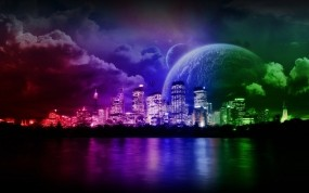 Инопланетный город