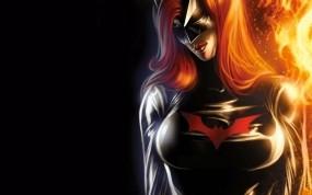 Обои Final Crisis: Revelations: Костюм, Batwoman, Фэнтези - Девушки