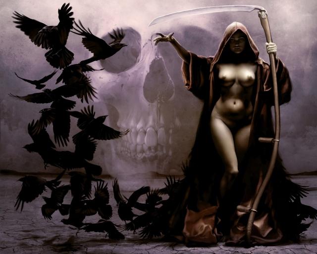 Девушка-смерть