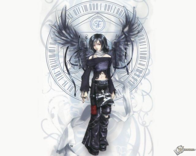 3D Девушка - ангел
