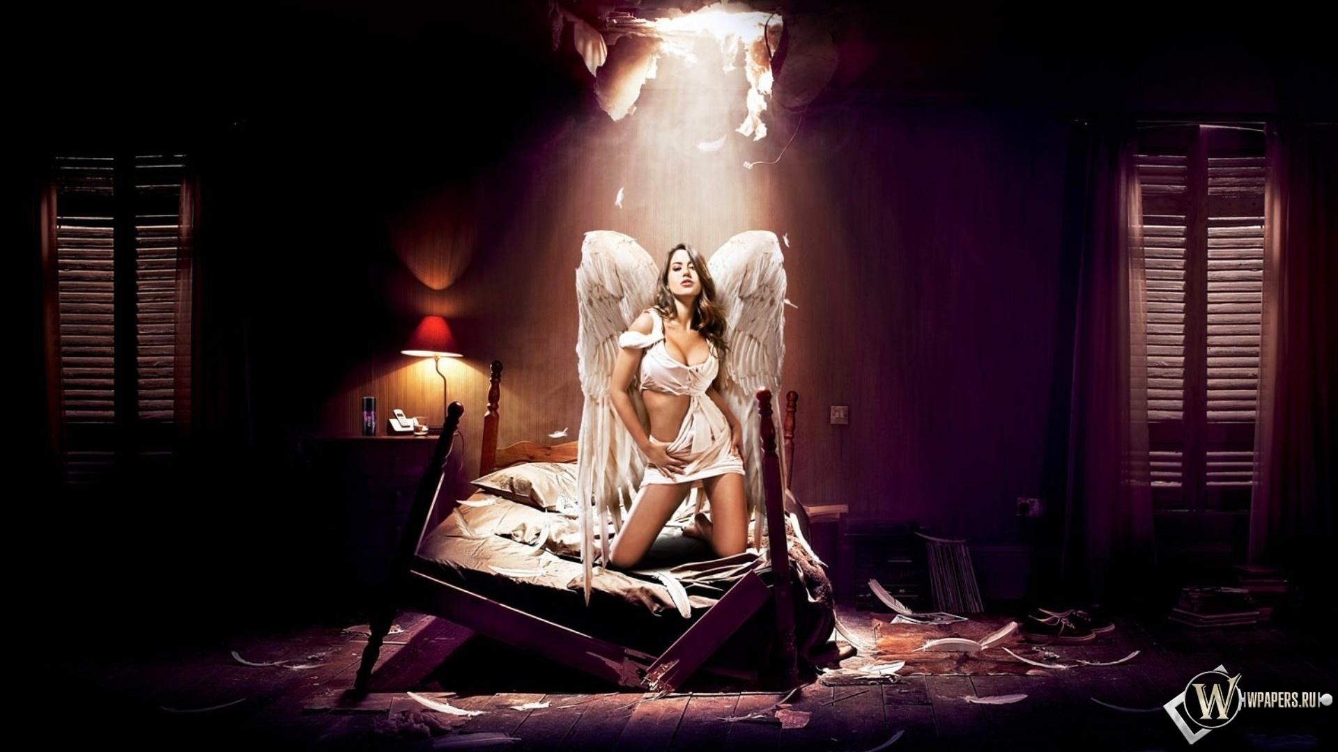 Horny angel 1920x1080