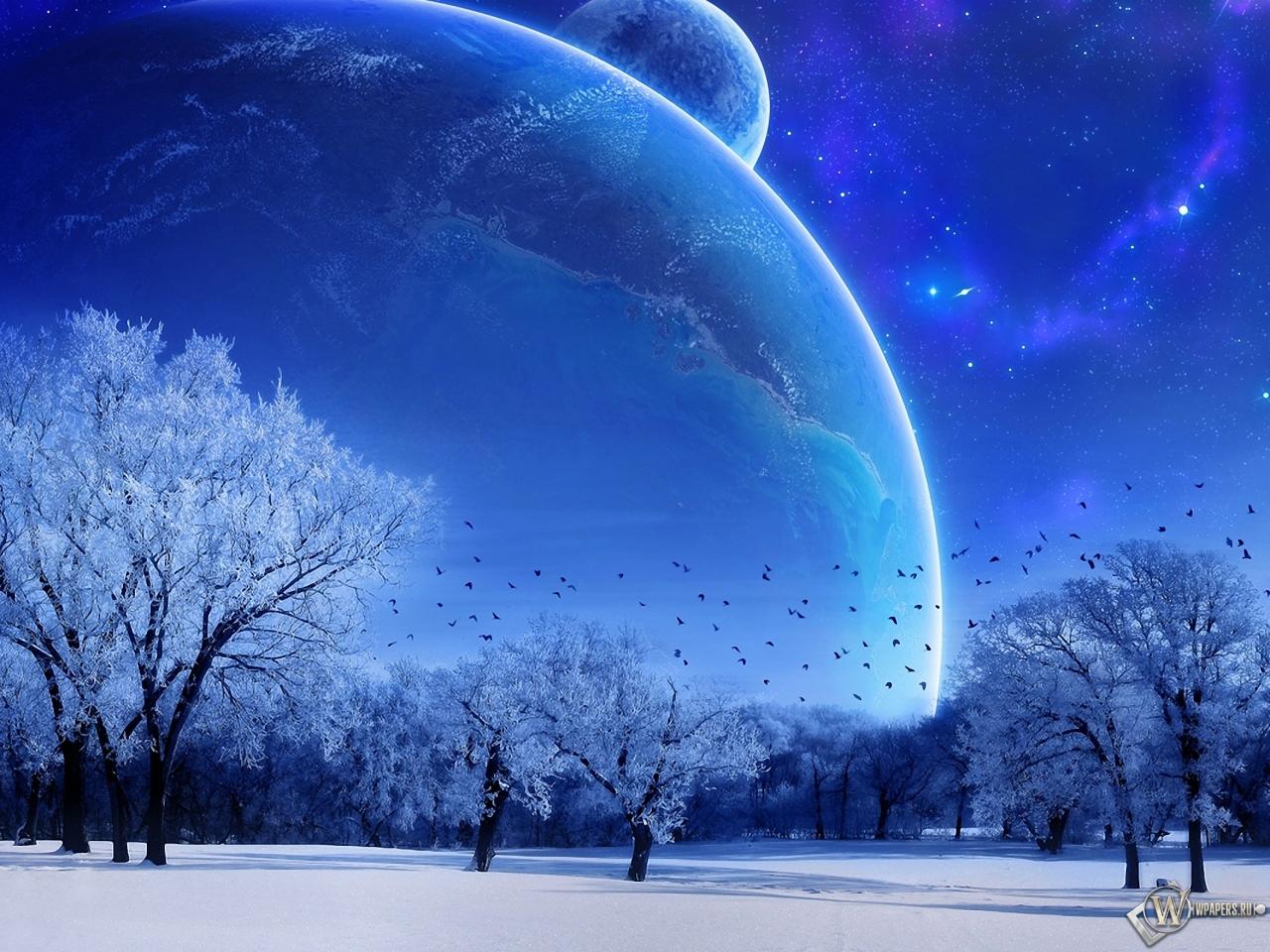 Зимняя фантазия 1280x960