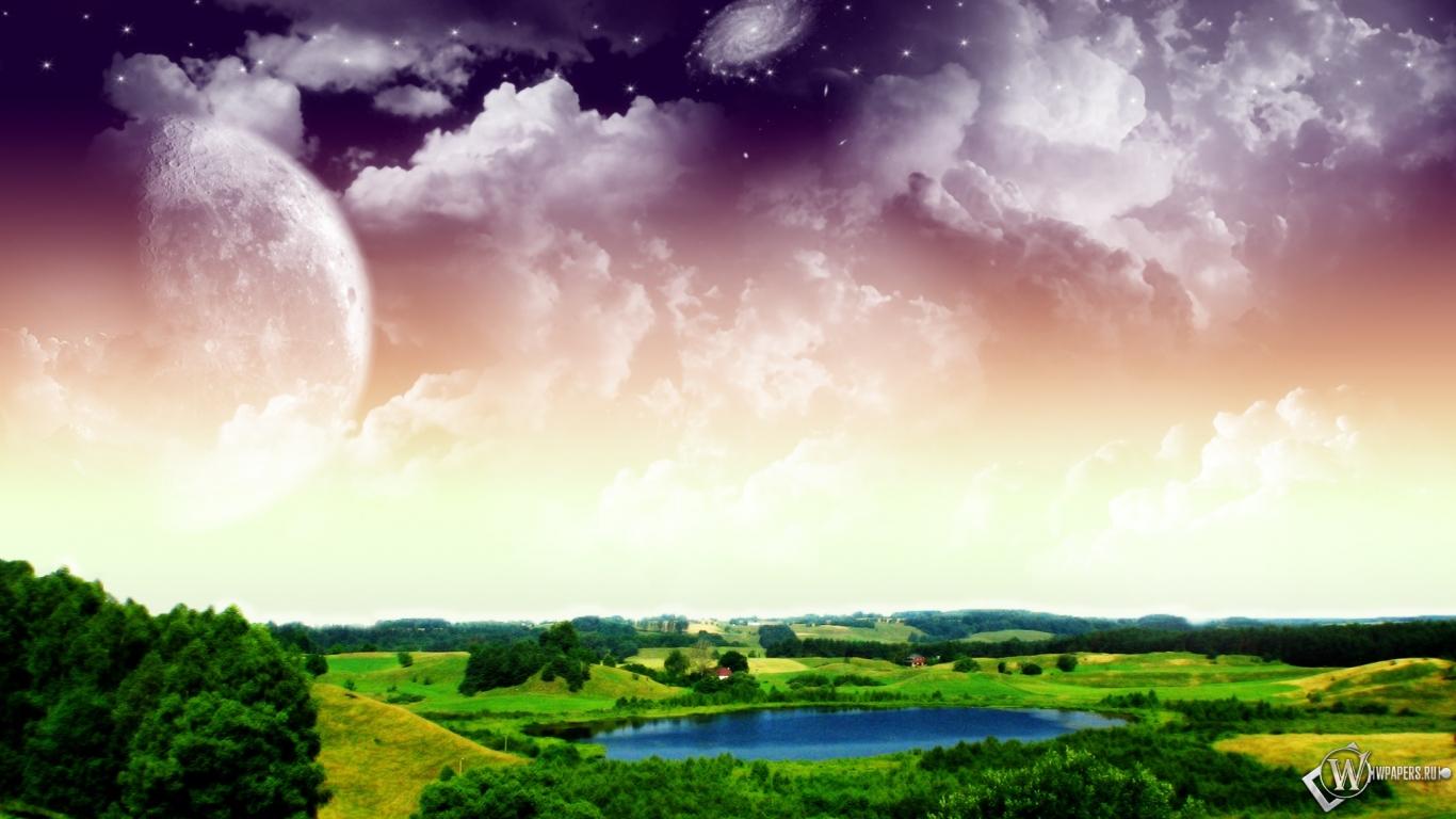 Картинки 3d природа скачять