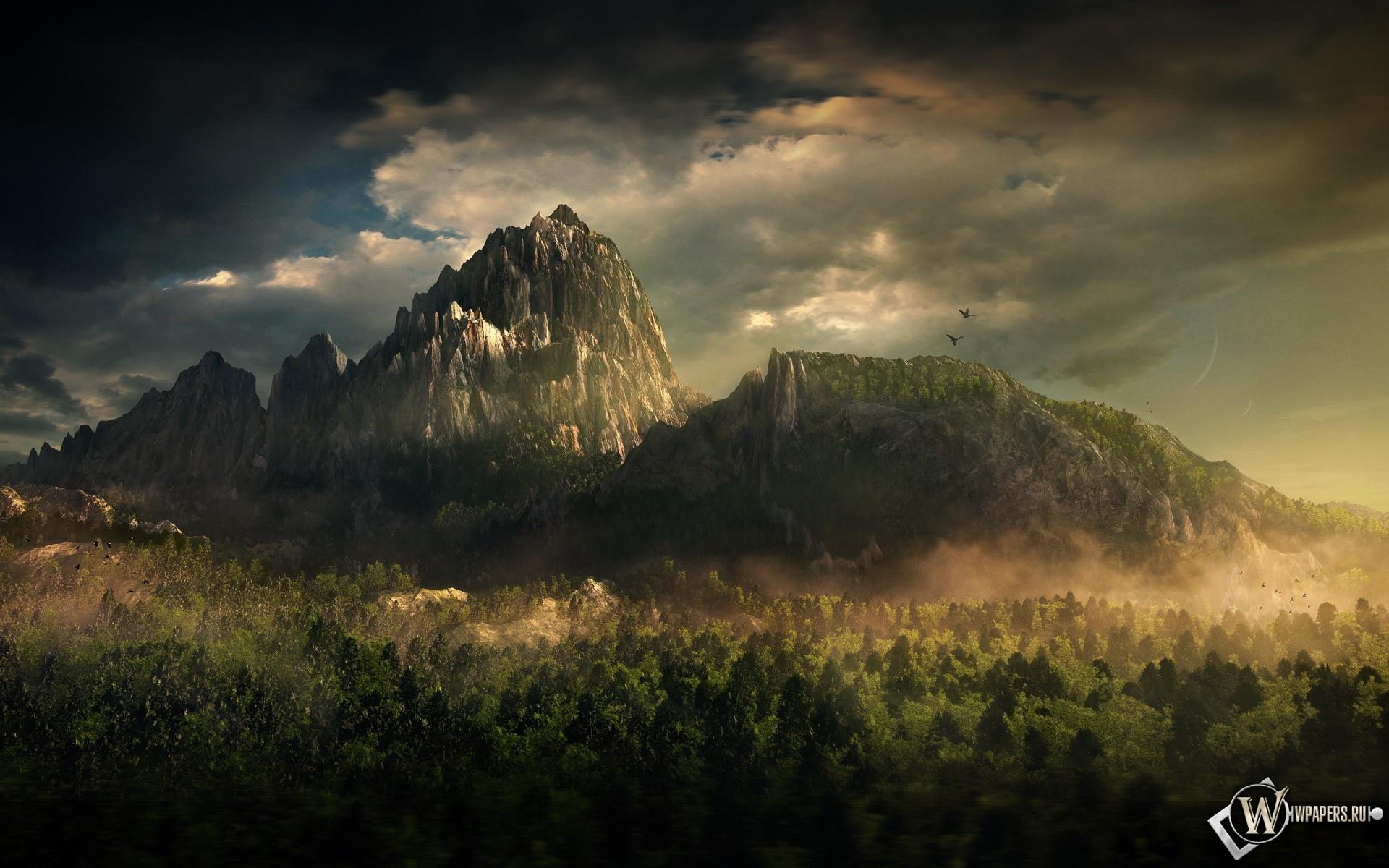 Mountain landscape 1920x1200