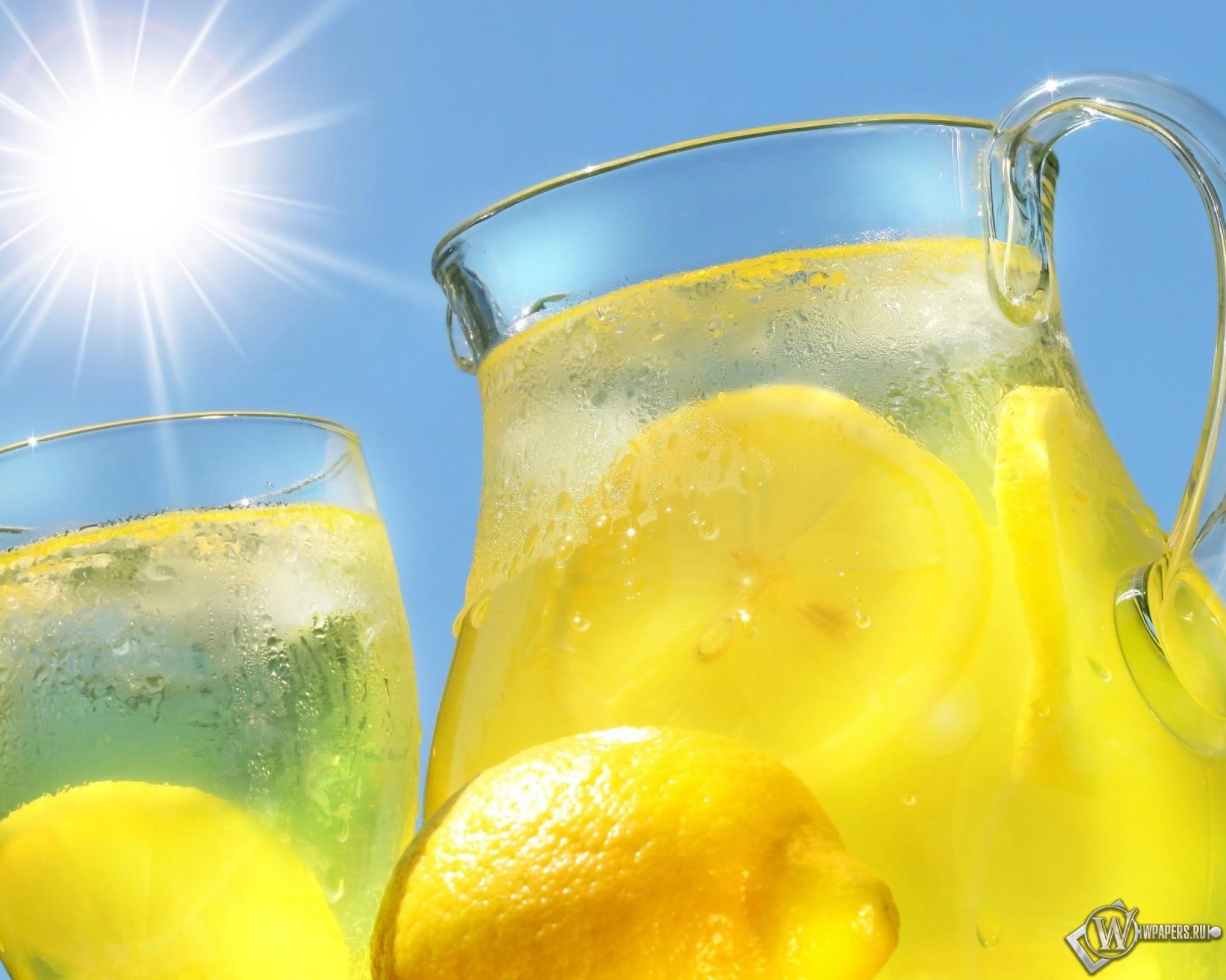 Как сделать лимонный холодный напиток