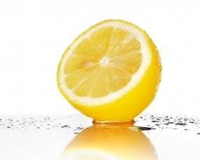 Обои Лимон: Вода, Лимон, Брызги, Еда