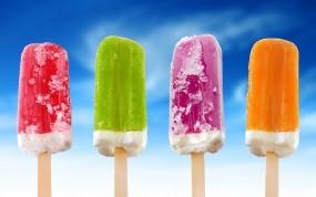 Цветное мороженое