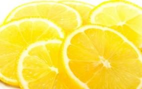 Обои Сочные лимоны: Желтый, Лимоны, Фрукт, Еда