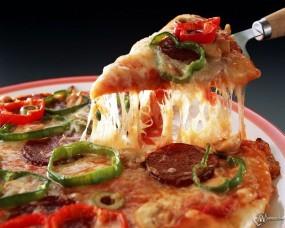 Обои Пицца: , Еда