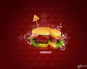 Обои Гамбургер: Еда, Гамбургер, Биг Мак, Фастфуд, Сыр, Булочка, Макдональдс, Еда