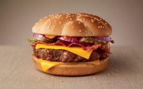 Обои Чизбергер: Еда, Гамбургер, Макдональдс, Чизбургер, Еда