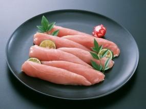 Обои свежее мясо с лаймом: Лайм, Мясо, Еда