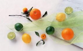 Обои Цитрусовые: Мандарины, Цитрусовые, Апельсин, Еда