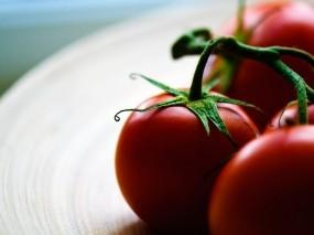 Обои Сочные помидоры: Помидор, Томаты, Помидоры, Еда