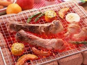 Обои Барбекю: Мясо, Красиво, Барбекю, Вкусно, Аппетитно, Barbecue, Еда
