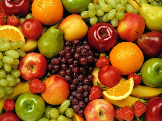 Вкусные фрукты