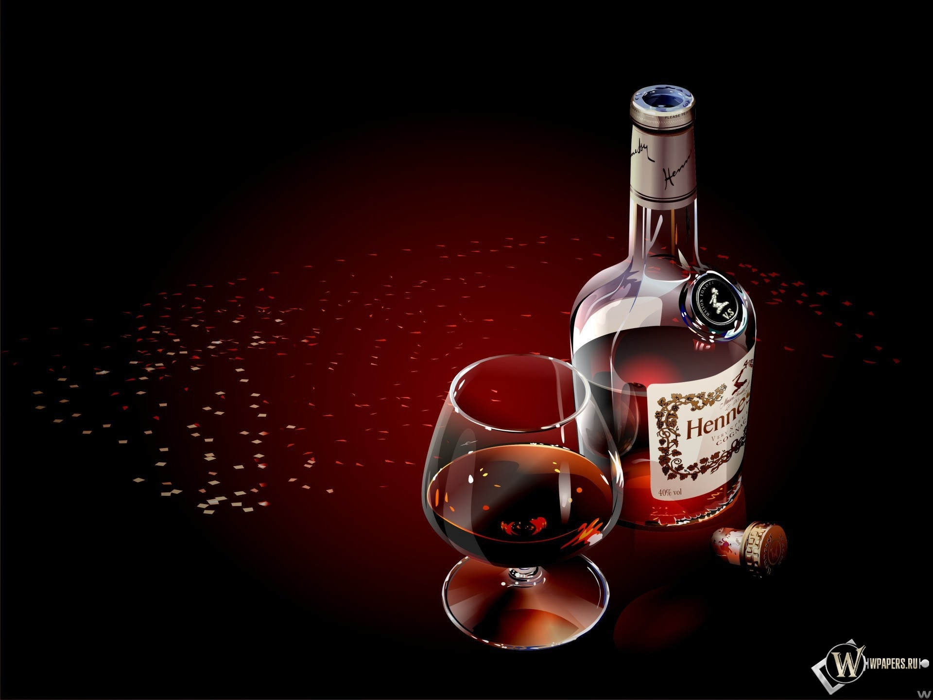 Коньяк Hennessy Black 1920x1440