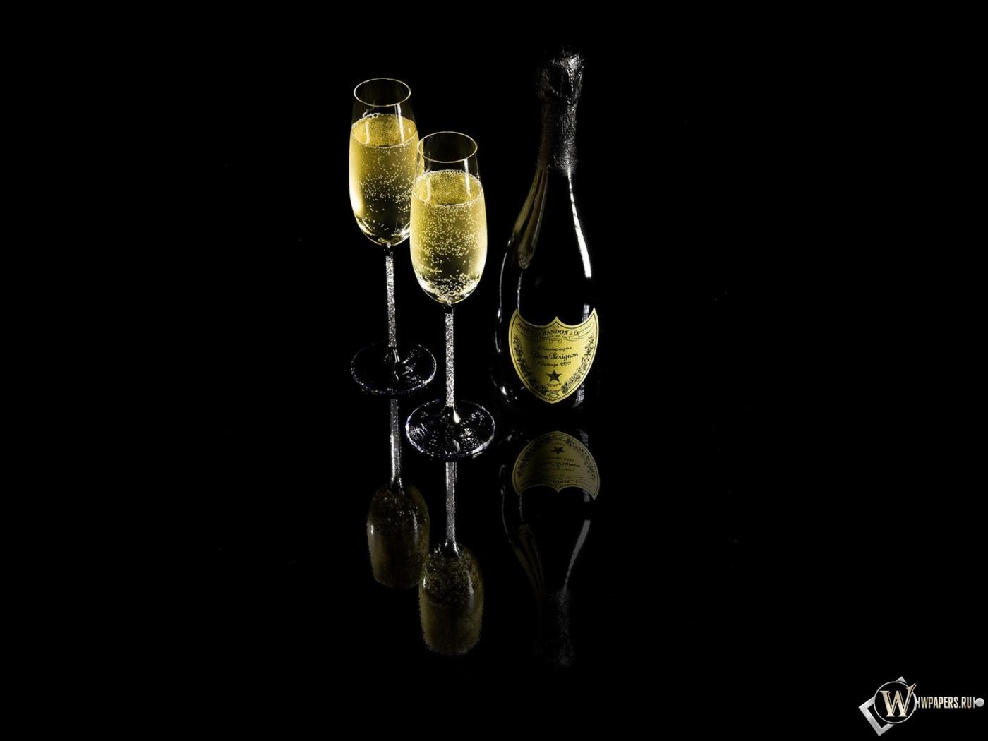 Обои шампанское dom perignon на рабочий
