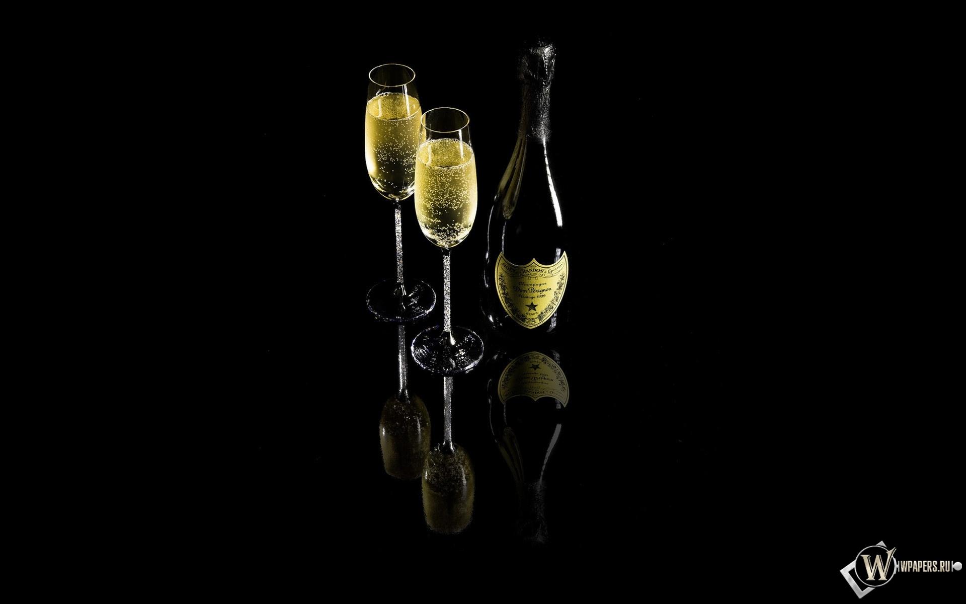Шампанское Dom Perignon 1920x1200