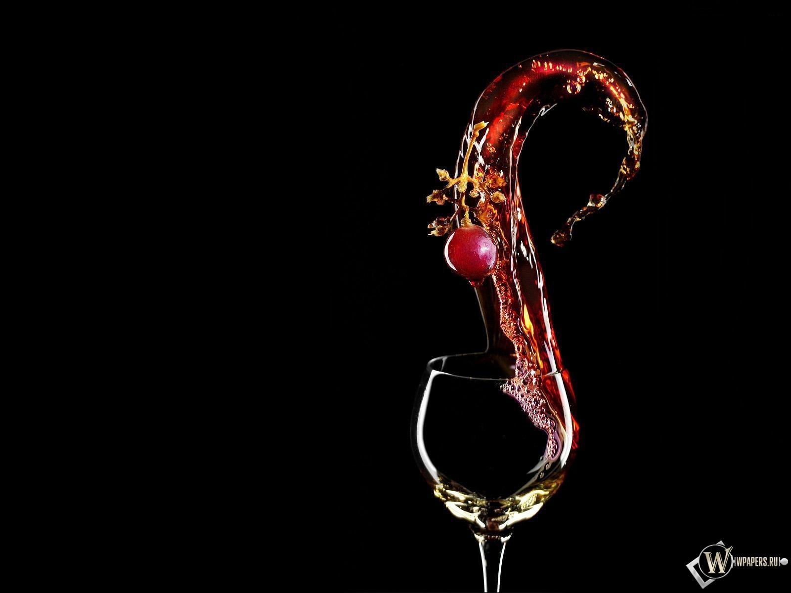 Бокал вина 1600x1200
