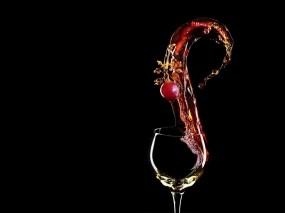 Обои Бокал вина: Вино, Алкоголь, Бокал, Алкоголь