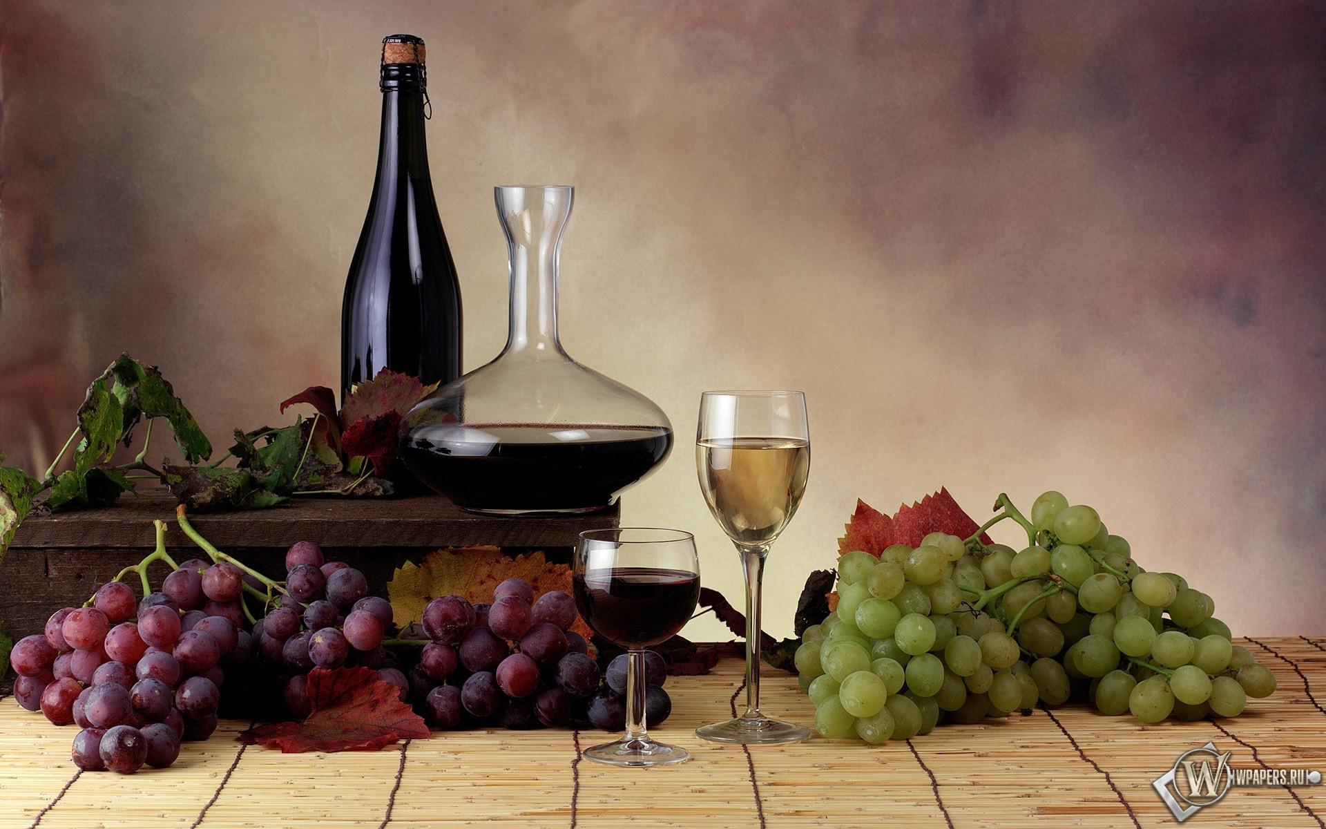Вино и виноград 1920x1200