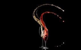 Обои Вино в бокалах: Вино, Макро, Напиток, Минимализм, Бокалы, Алкоголь