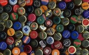 Обои Пивные крышки: Пиво, Пробки, Крышки, Алкоголь